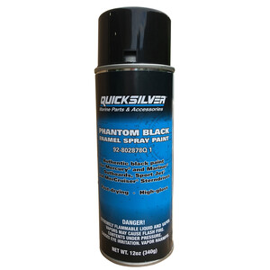 Phantom Black Spray Paint
