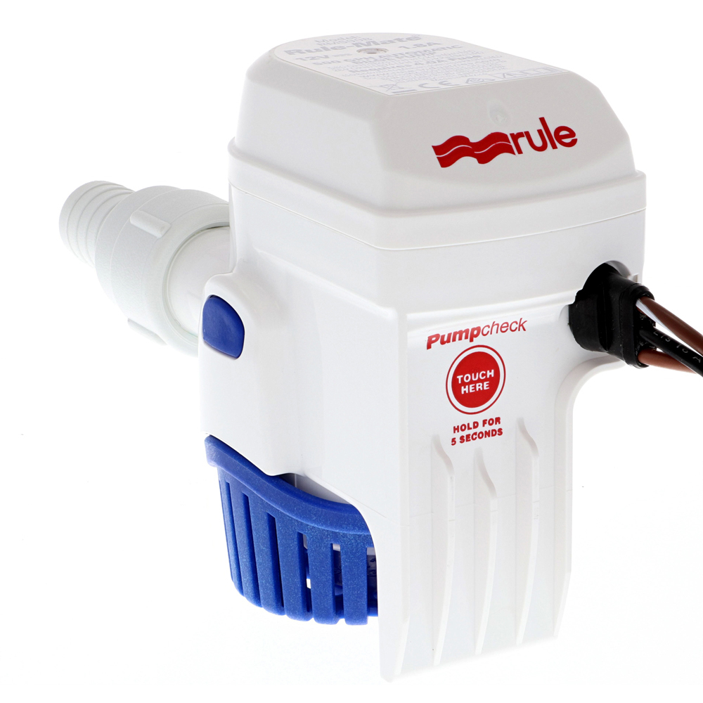 -Mate Automatic Bilge Pump 12V