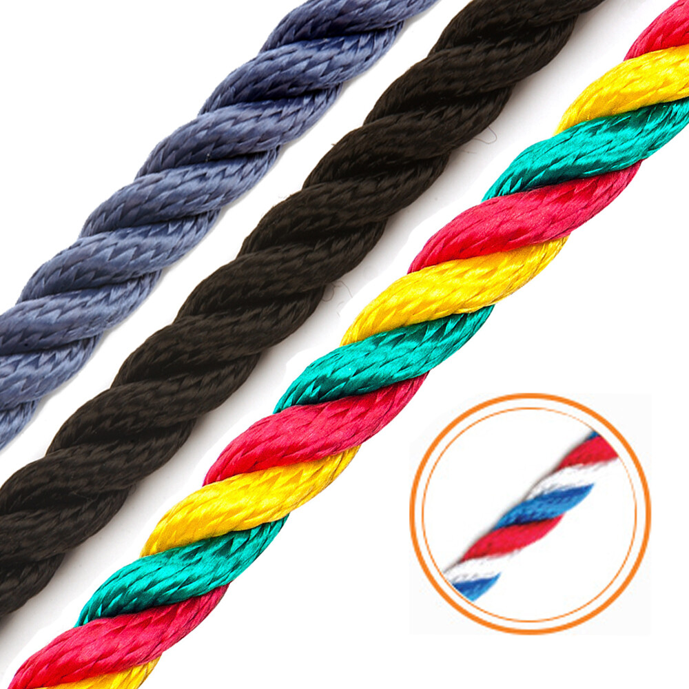 3 Strand Multi-Filament Polypropylene 14mm Rope