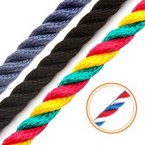 3 Strand Multi-Filament Polypropylene 14mm Rope