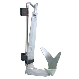 Rail Mounted Holder for Bruce Style Anchors