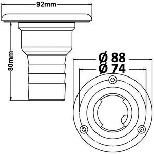 Deck Filler - Diesel