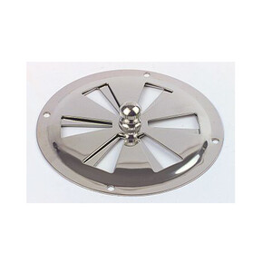 Butterfly Vent Stainless Steel 102mm