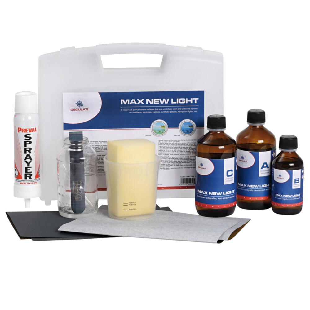 Polycarbonate Hatch Restoration Kit