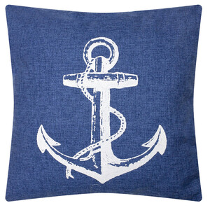 Nautical Cushion - Anchor