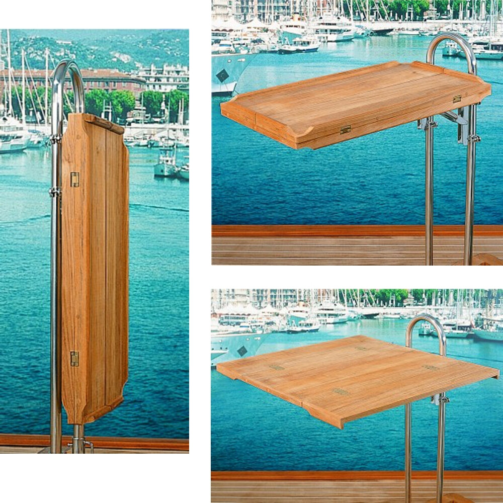 Fold-Away Teak Table Top