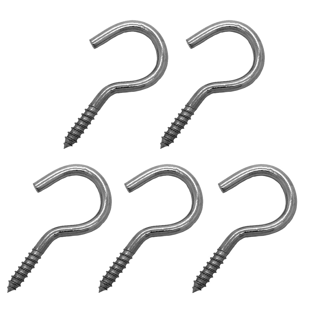 Screw Hooks - Stainless Steel