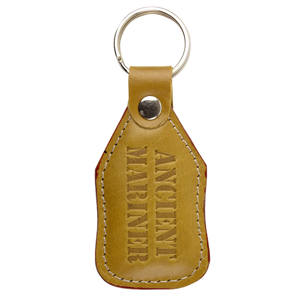 LeatherTag Keyring