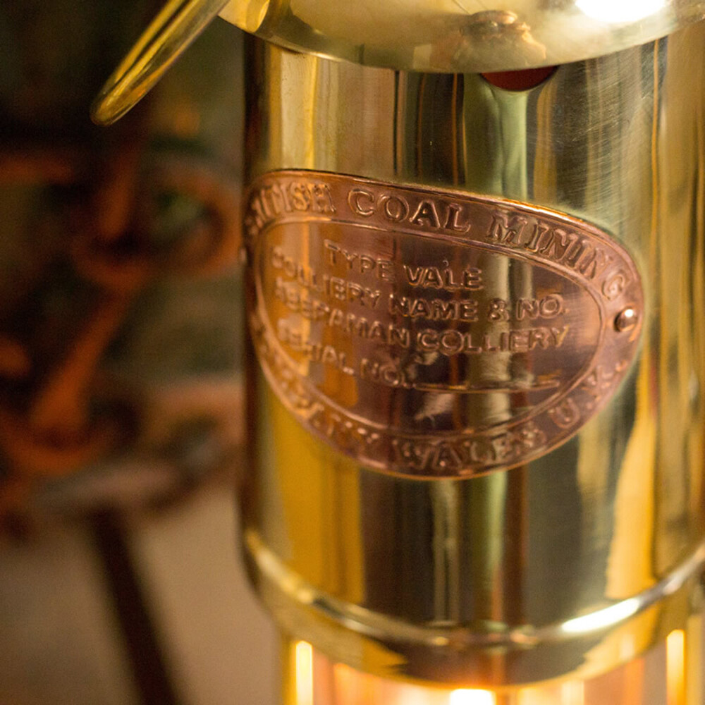 Miner's Oil Lamp
