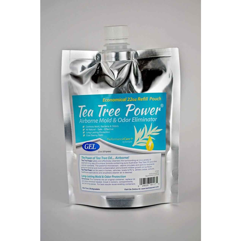 Tea Tree Power Gel Refill Pouch 22oz