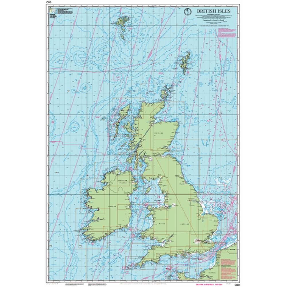 C80  Chart - British Isles