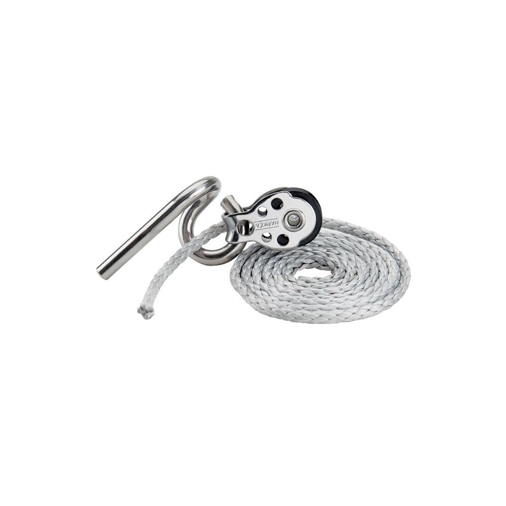 Dinghy Clew Hook w/16mm Air block