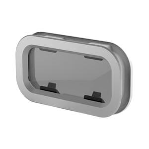 Standard Portlight Size 0 with White Trim