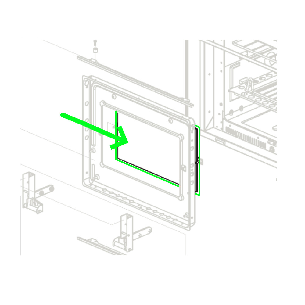 Kit Glass Door Inner