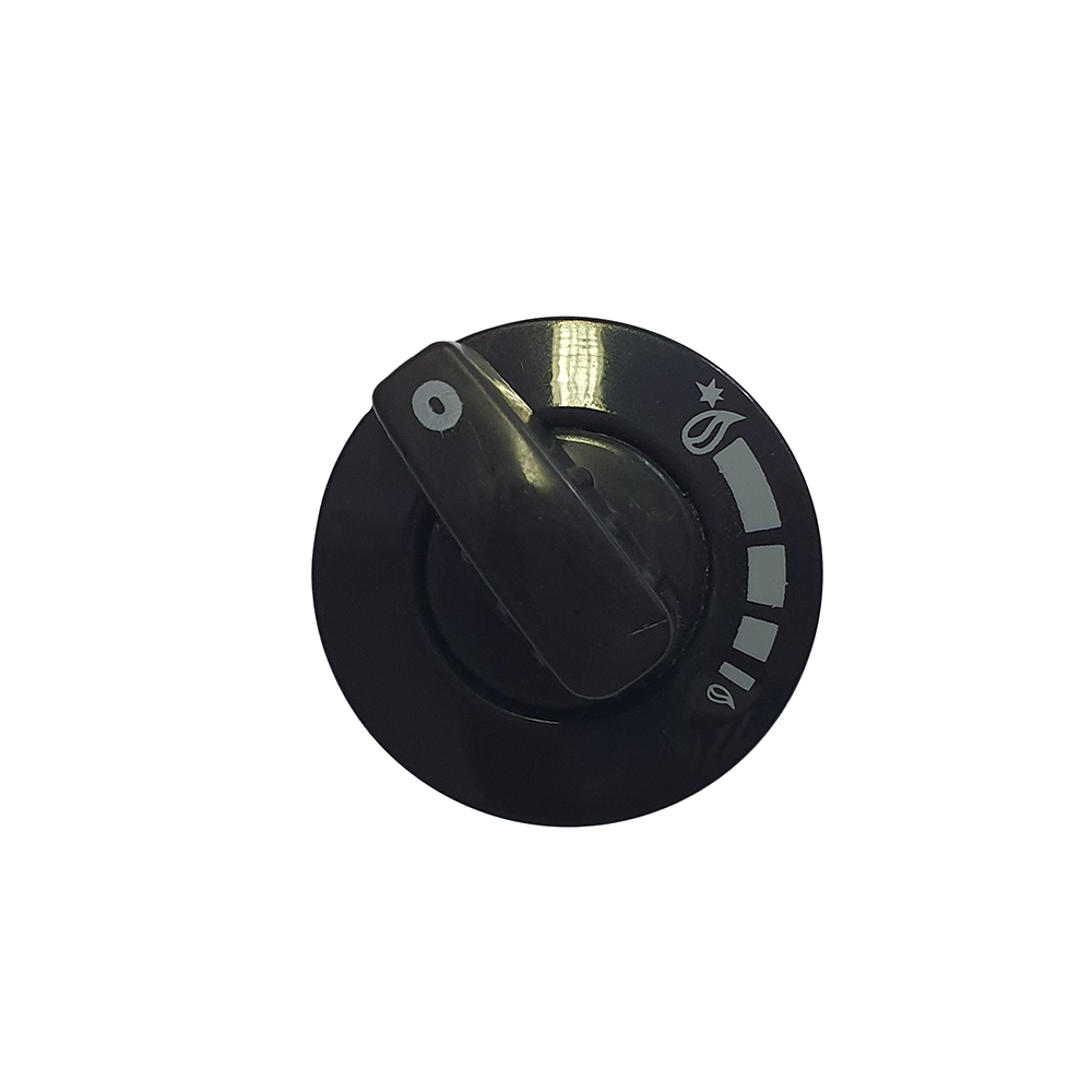 Turning Knob Burner Black