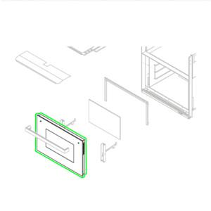 Glass Door Oven