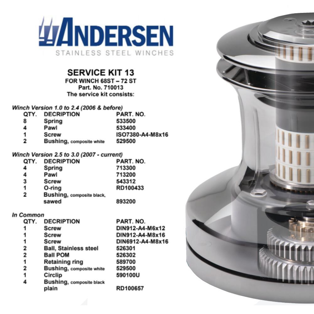 Winch Service Kit 13