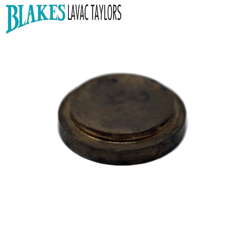 Blakes Blanking Cap Brass 38mm Dia