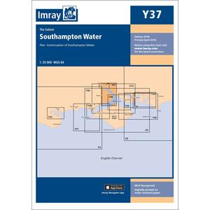 Y37 - Southampton Water Chart (Replaces 2200.7)