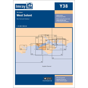 Y38 - West Solent Chart (Replaces 2200.8)