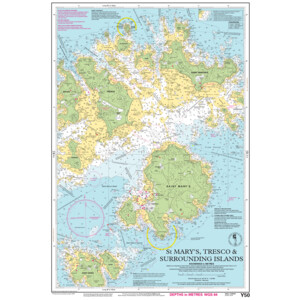 Y50 St Marys Tresco and Surrounding Islands