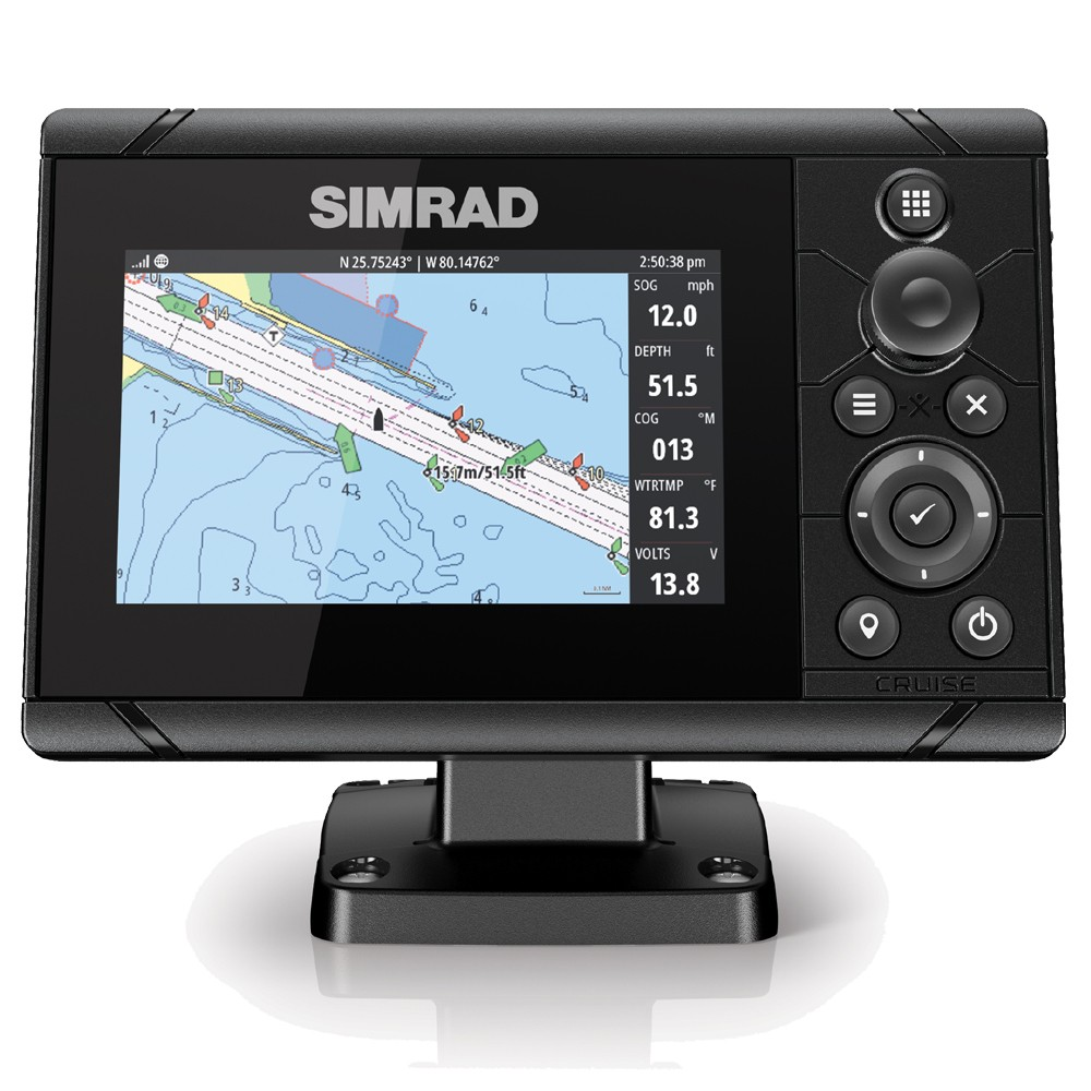 Cruise 5 Chartplotter Transducer Suncover & UK Chart Bundle
