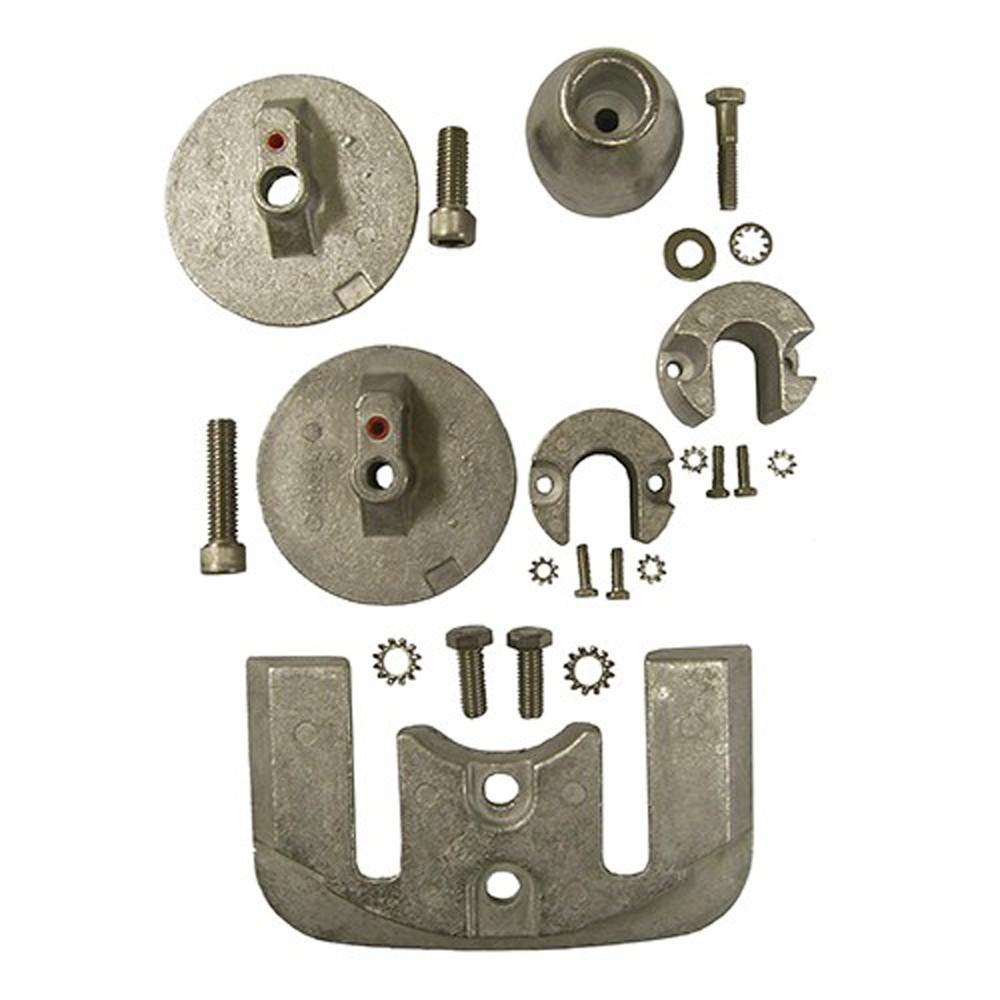 Engine Anode Kit w/Indicator Aluminium - Mercury Bravo 3 (2004+)