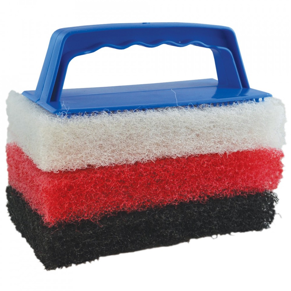 Scrub Pad Cleaning Kit inc 3 Pads