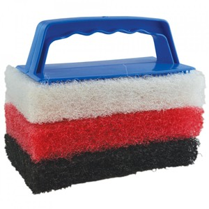 Scrub Pad Cleaning Kit inc 3 Pads