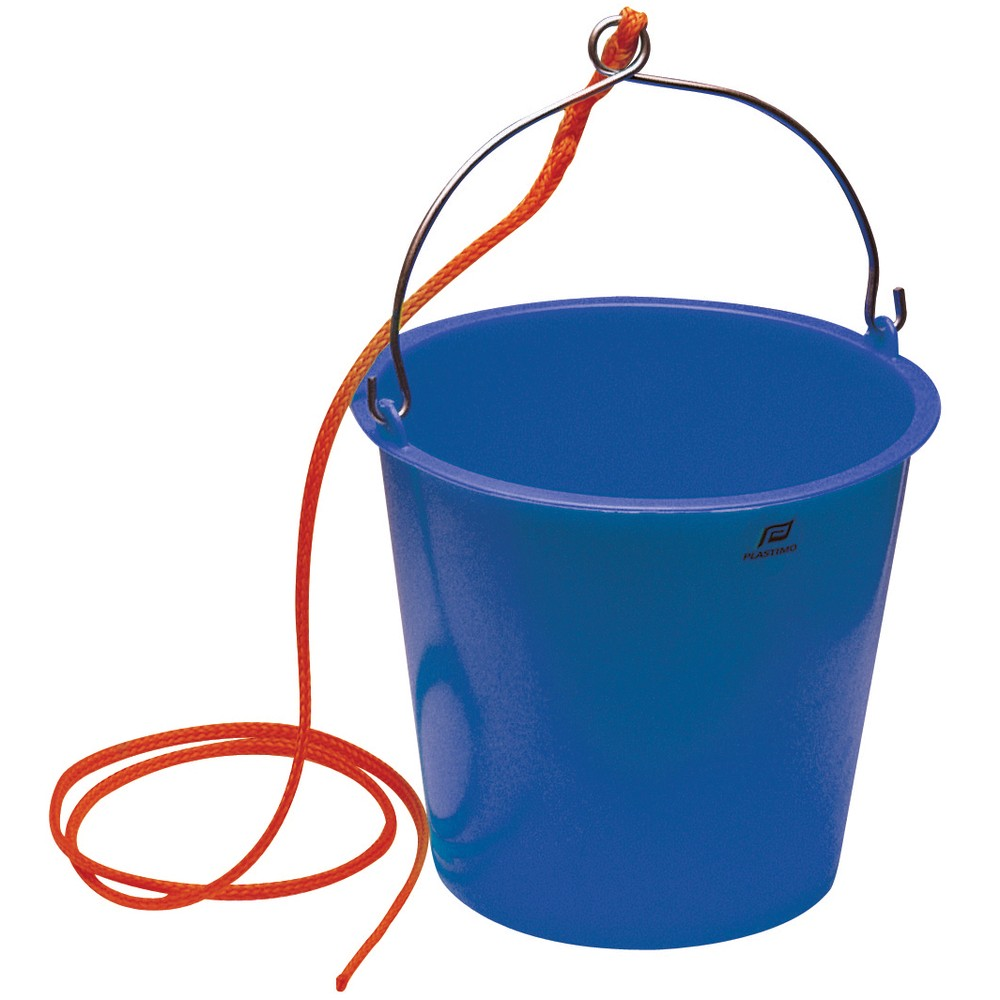 10L Plastic Bucket & Rope