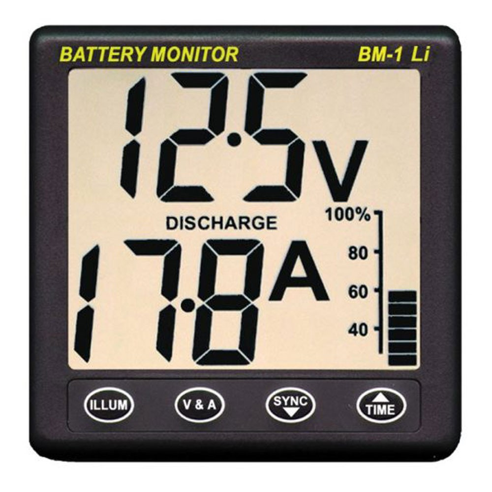 Clipper BM-1 Lithium LiFePO4 Battery Monitor 12V
