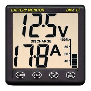 Clipper BM-1 Lithium LiFePO4 Battery Monitor 12V