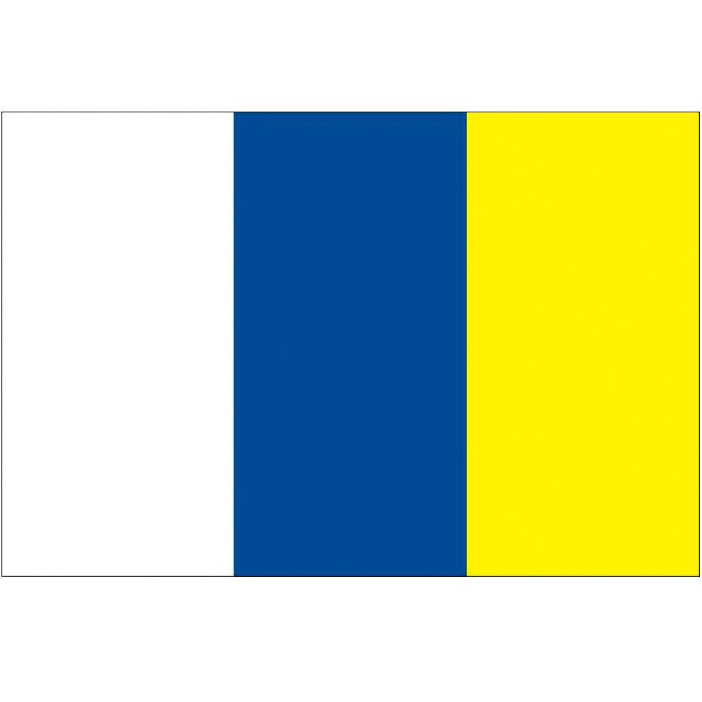 Courtesy Flag Canary Islands