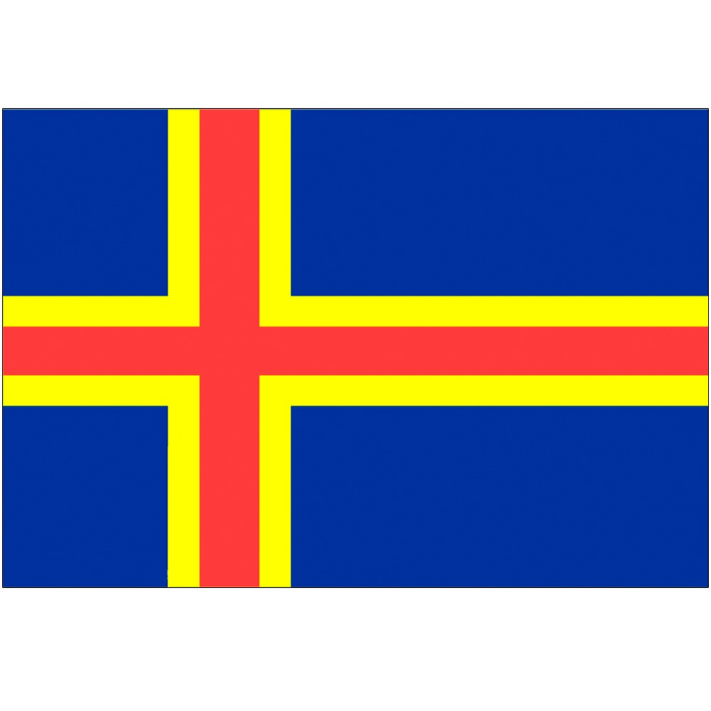 Courtesy Flag Aland Islands