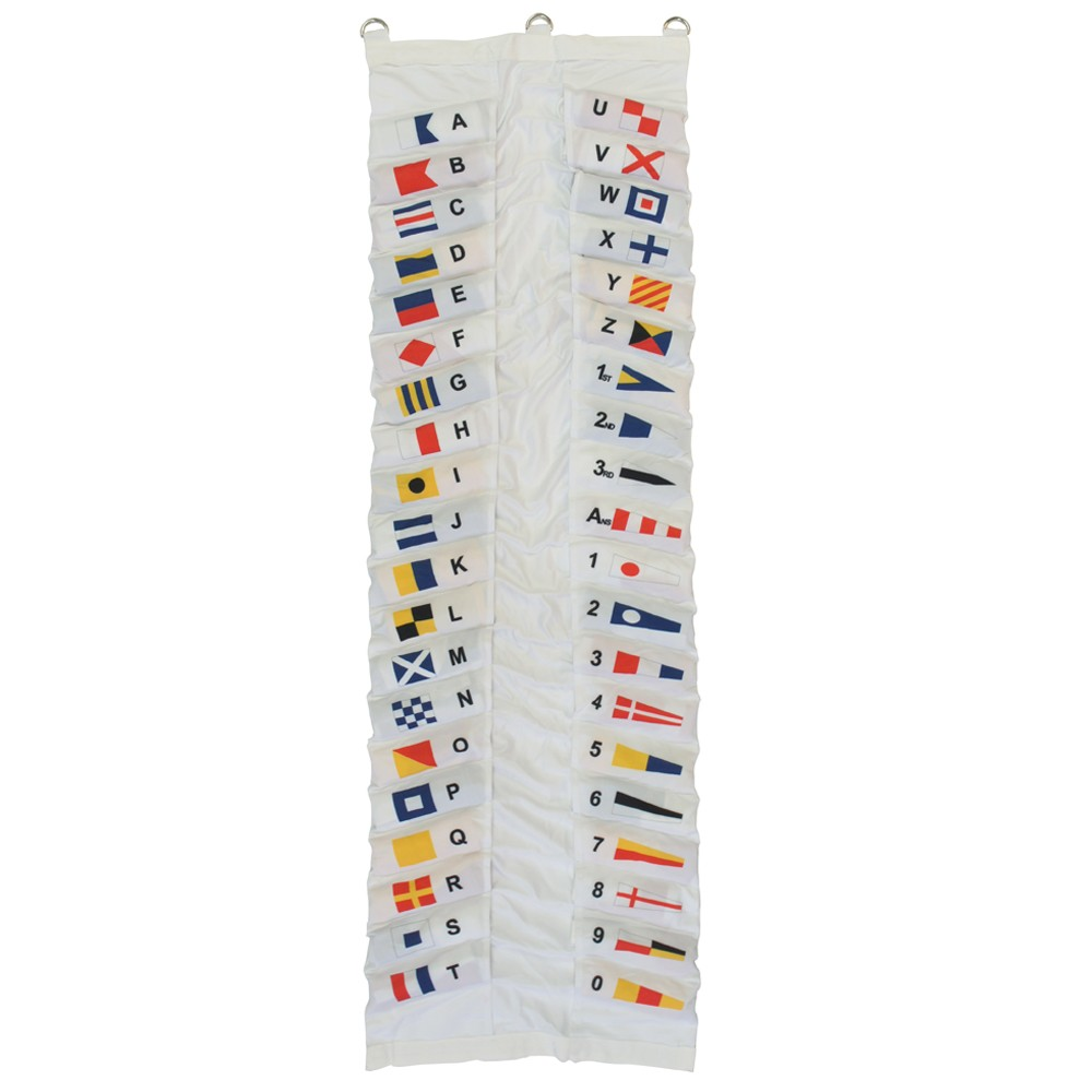 Code Flag Set - 45cm