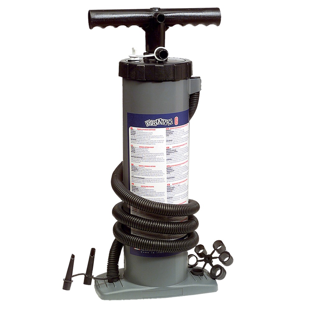 6 Double Action Hand Pump - 2x2500cc