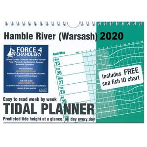 Tidal Planner - HAMBLE RIVER