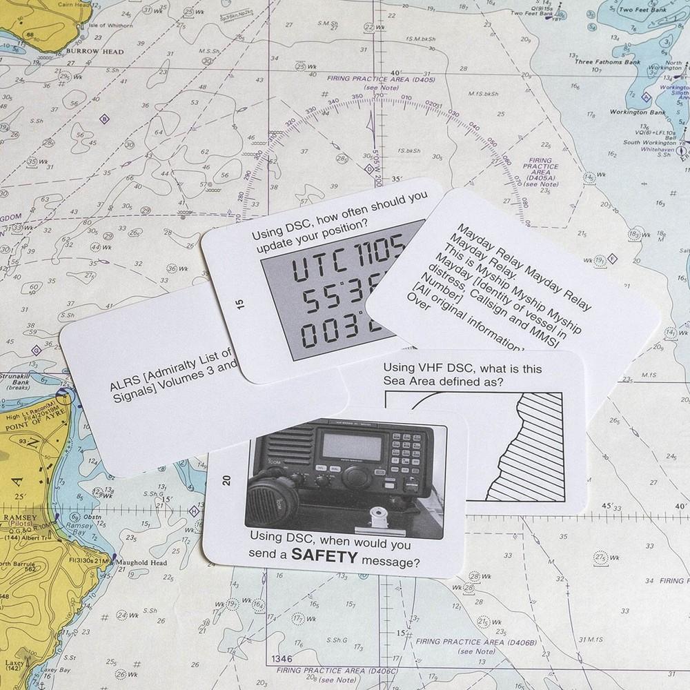 Flip Cards Marine Radio