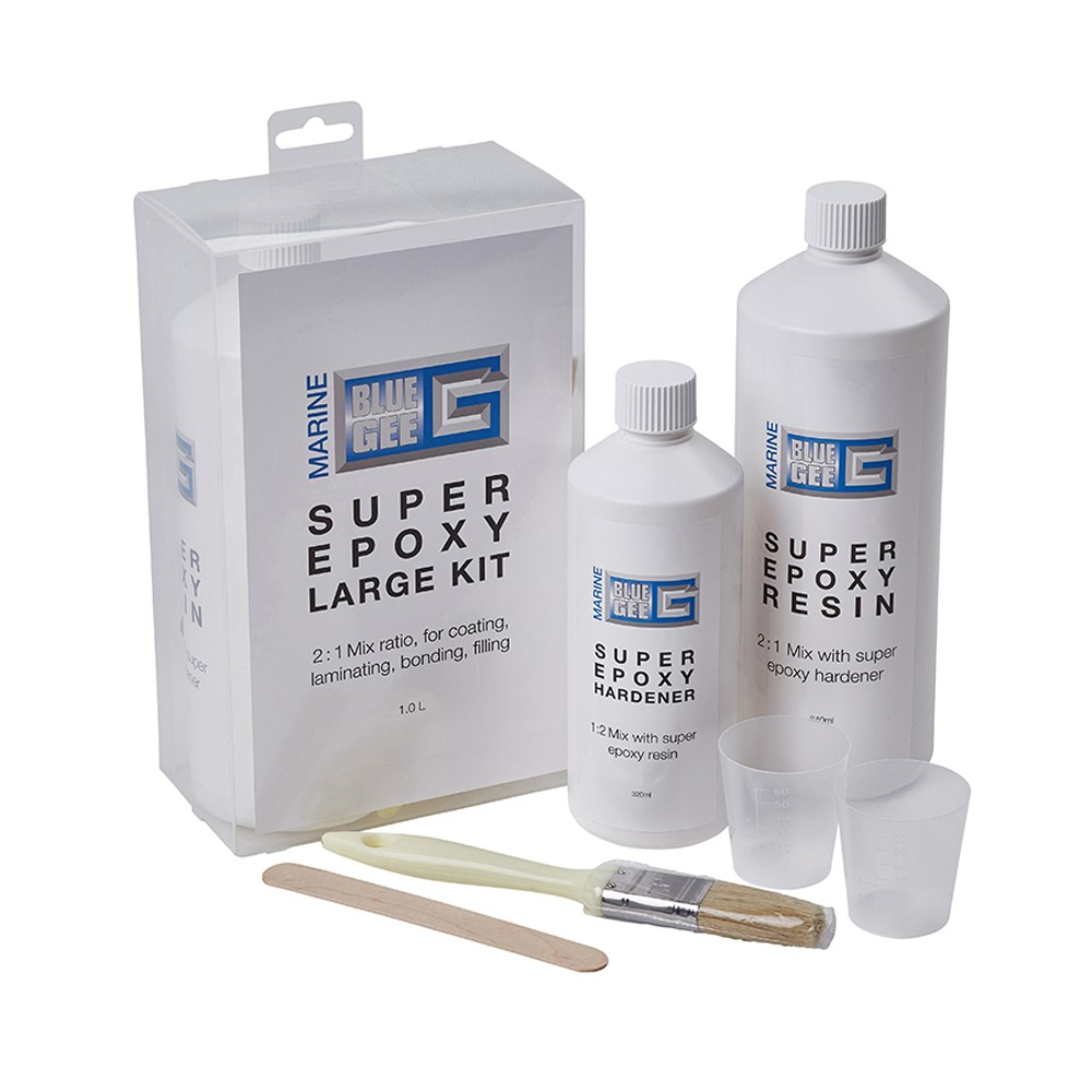 Super Epoxy Large Kit 1Ltr