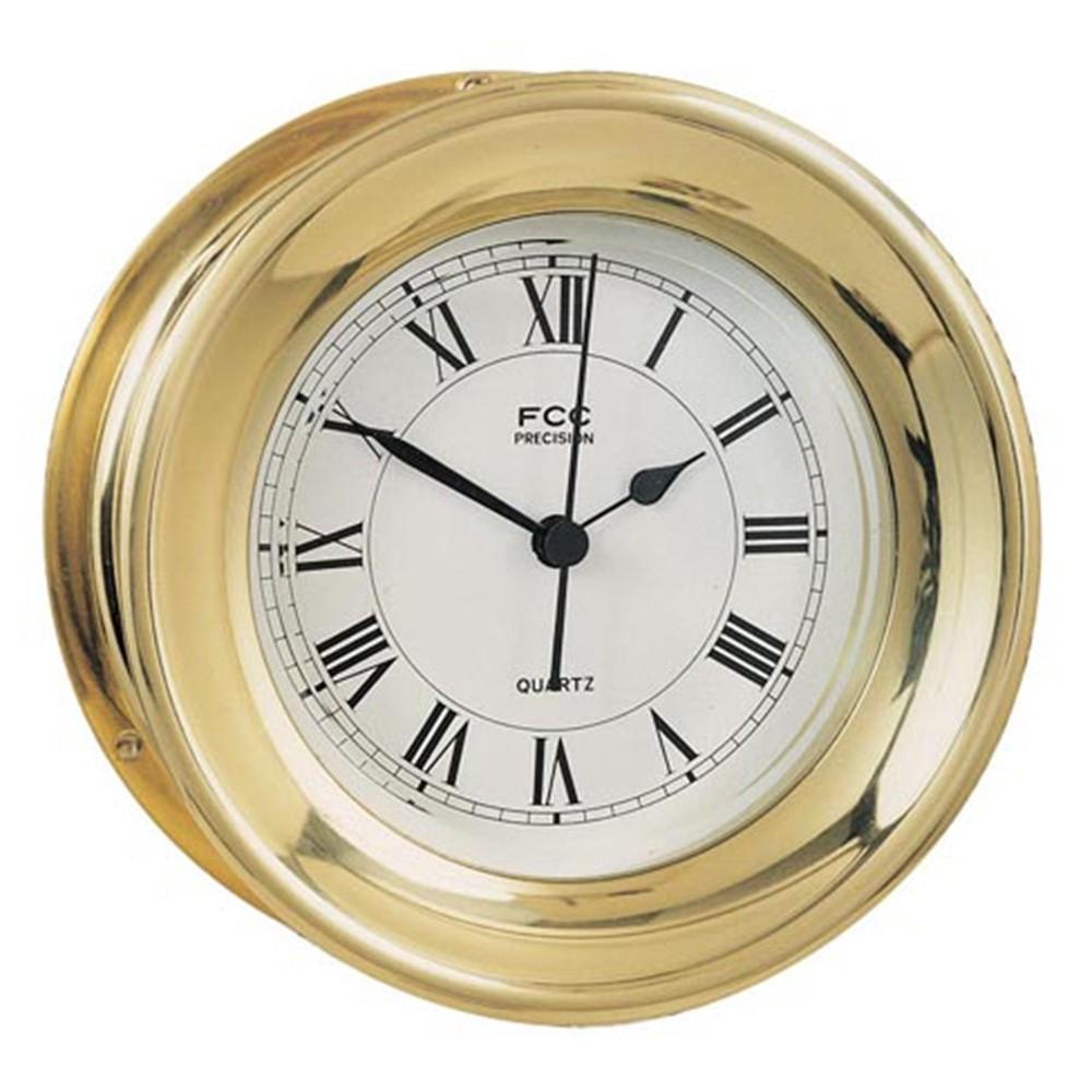 Brass Capstan Clock - 4.5