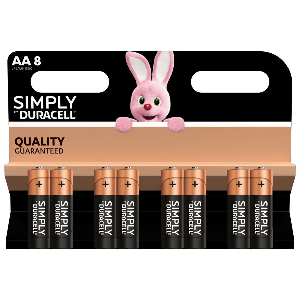 AA Batteries - 8 Pack (LR6/MN1500)