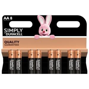 AA Batteries - 8 Pack (LR6/MN1500)