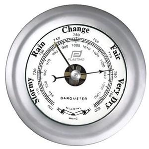 Barometer Matt Chrome 4