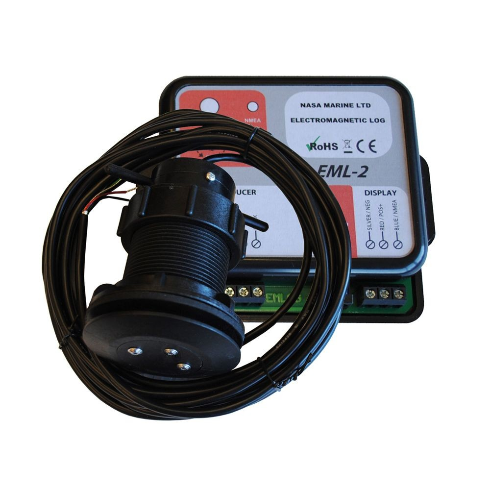 EML-2 Electromagnetic Speed Log Transducer and Control Box
