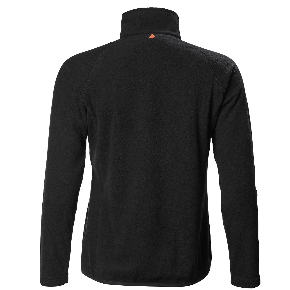 Women's Crew Half Zip Microfleece - Black