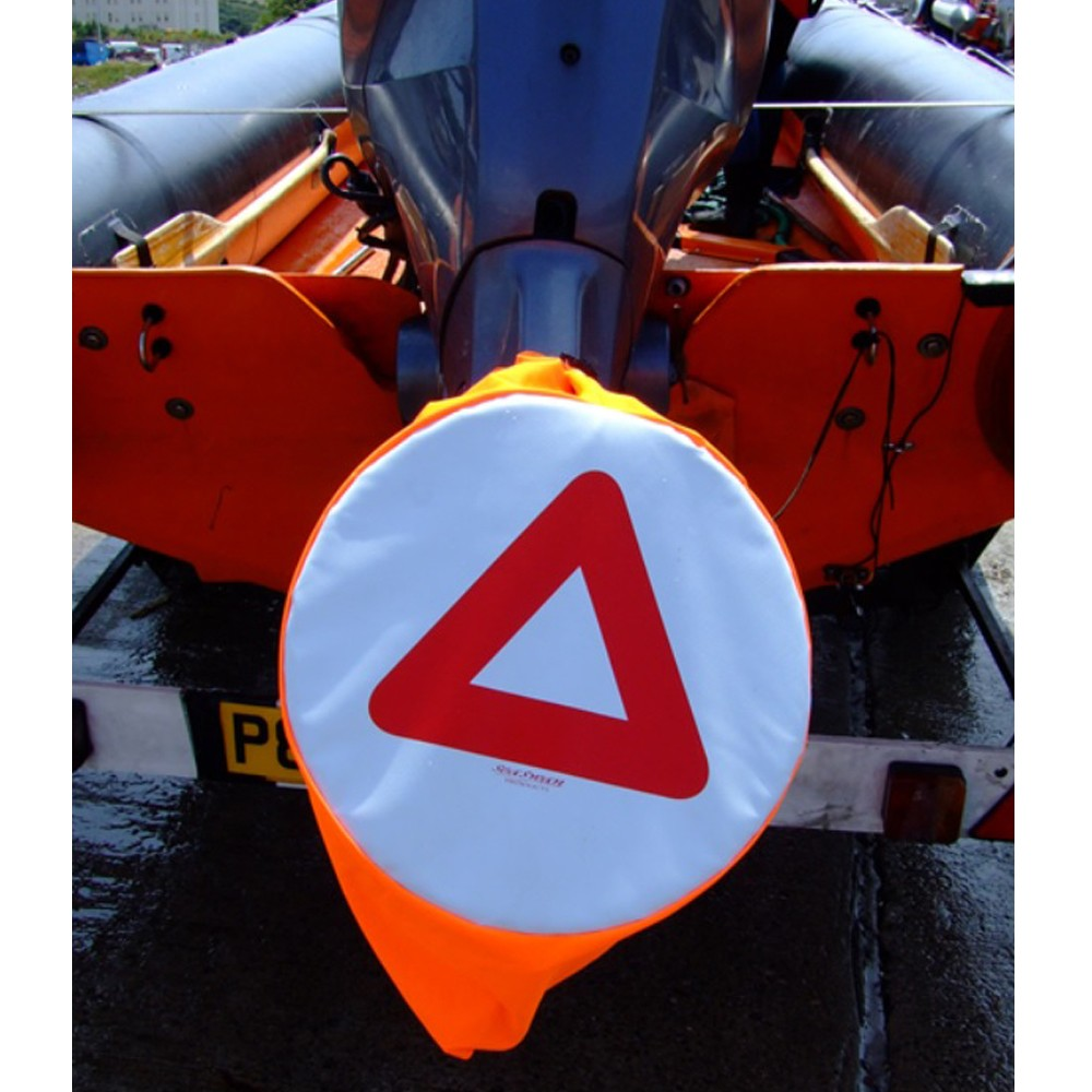 Propeller Cover with Warning Triangle
