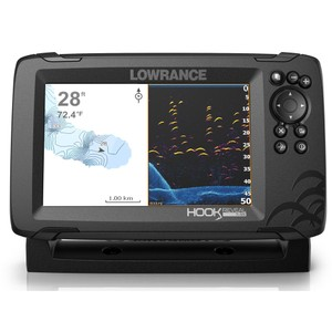 Hook Reveal 7 83_200 HDI Chartplotter Fishfinder Combo