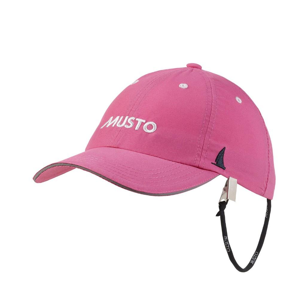 Essential Fast Dry Crew Cap - Hot Pink