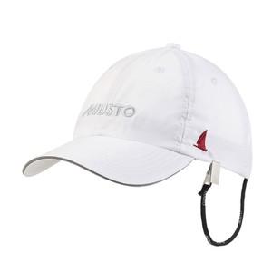 Essential Fast Dry Crew Cap - White