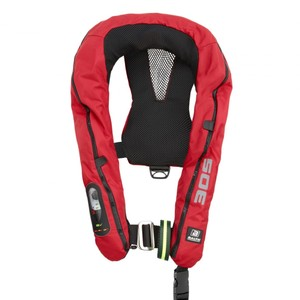 Legend 305N SLA Lifejacket Auto/Harness Red